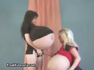 Two sexy girls skippy ball like huge part3