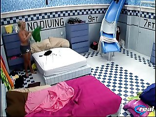 Jordan Full Front Flash + Boobs from Big Brother 11 USA