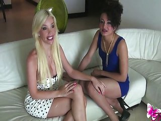 Ana Mancini and Keira Verga fuck