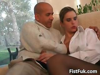 Two horny sluts get fucked and fingered part1
