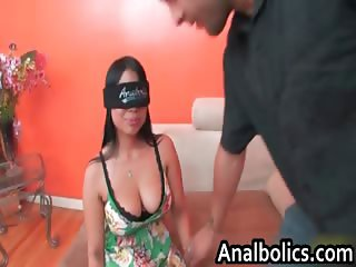 Curvy Exotic babe with big tits gets part1
