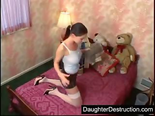 Young girl assfucked hard
