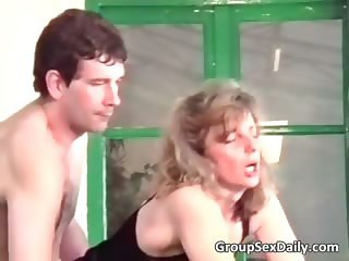 Two horny mature couples are fucking part6