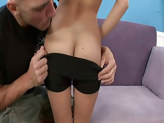sweet blonde Madison with top guy