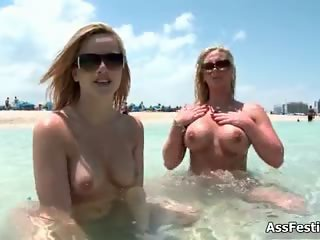 Two big ass babes from AssParade part2
