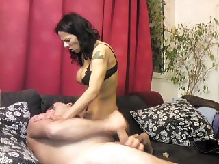 AMATEUR HOMEMADE WITH LADYBOY WITH MARCELA