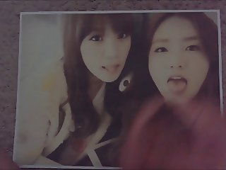 Cum Tribute: A Pink Yoon Bomi and Park Chorong