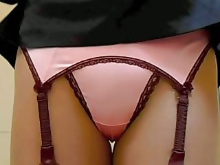 Sexy Suspender Belt and Thong