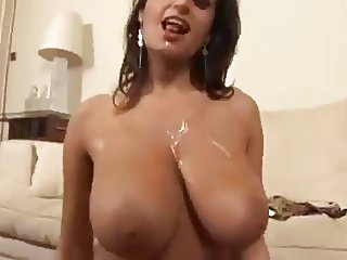 Busty Brunette Milf Takes It Up The Ass