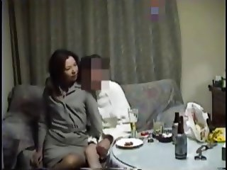 Japanese wife real sex