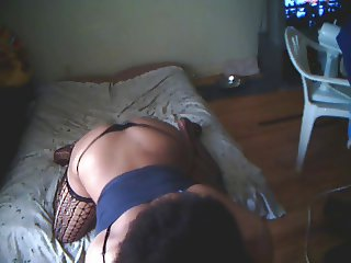 BUBBLE BUTT BOOTY BOUNCE WITH THONG