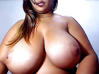 Huge breasts on this pussy bearing Latina