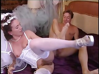 Bride fucked and fisted