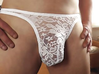 male power bong thong - sexy string mit spitze 2