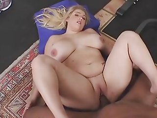 Cute BBW gets IR fucked in a gym