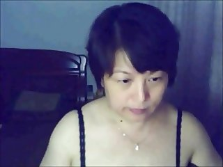Chinese  lady on webcam
