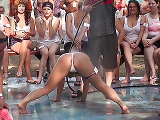 Amateur Wet T-Shirt Contest - Ponderosa 2014