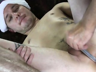 Straight amateur virgin ass toyed with