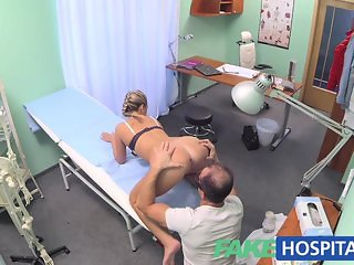 FakeHospital Hot blonde loves the doctor