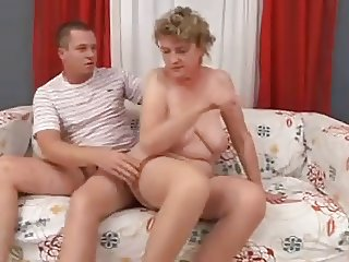 Mature woman and young man - 72