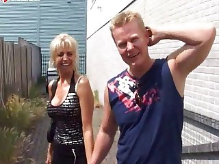 Milf Dutch Blonde Anal 9857