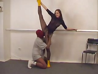 Gymnasts pantyhose sex