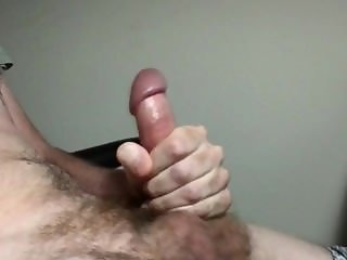 big dick stroked and cum on belly