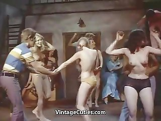 Late Night Topless Ladies Dance (1960s Vintage)