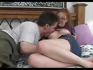 SB3 Hairy Ginger Minged Teen Takes It Right In The Eyes !