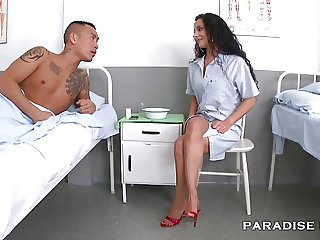 PARADISE FILMS Nurse Feet Fetish at the Hospital