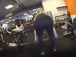 GYM, great ass in leggins