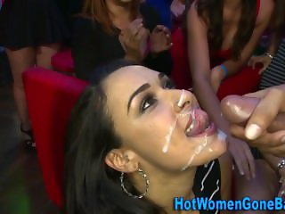 Real clothed latina jizz