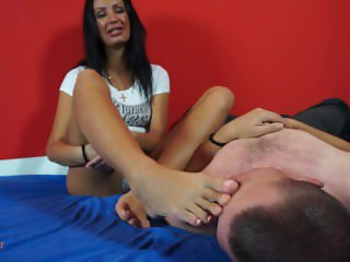 foot worship & trampling