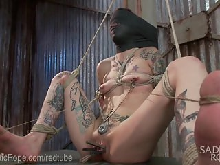 Water Boarding And Brutal Rope Bondage