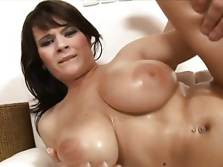 Slut gets a stiff cock in her