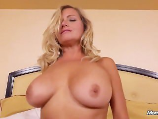39 Year Old Milf Does First Porn and Takes Facial Pov