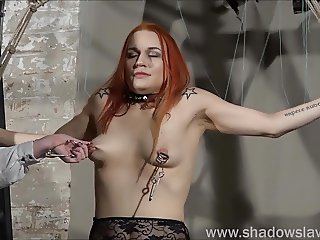Lesbian play piercing punishment and extreme amateur bdsm