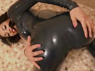 Catwoman Jenny in latex - M Fetish Videografie