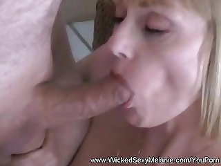 Double Blowjob From Wicked Melanie