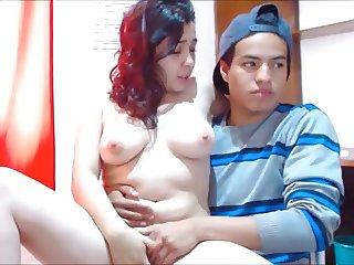 Amatorial Teen Couple She Cum! Real Love and Funny