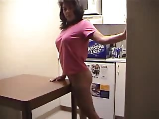 Wife Makes Love To Anal Dildo