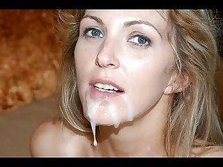 Cum On Her Face - Slideshow