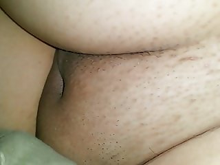 Resting wife vagina
