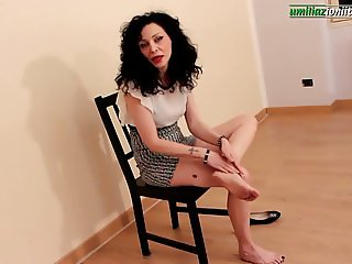 Violet Talks To You- Milf Foot Fetish