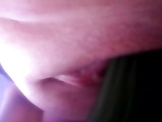 Wet pussy and cucumber