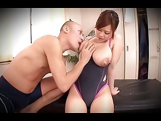 Lactating Asian Slut Groped and Fondled