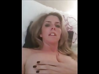 MILF Slut Talks Dirty While Masturbatng