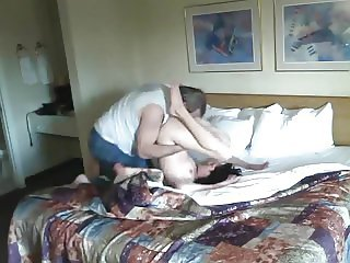 Weird Twisting in Hotel Room Fun