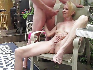 Masturbating Together With Huge Cum Shot Ending