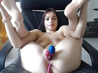 Pussy full of toys